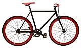 Retrospec Mantra Fixie bicicleta con bujes de rodamientos sellados