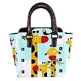 IUBBKI Cartoon Cute Penguin Handbag Lady Tote Bag Bolso bandolera 11x4.3x7.5in
