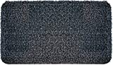 GrassWorx Clean Machine High Traffic Doormat, 18' x 30', Charcoal (10376337)