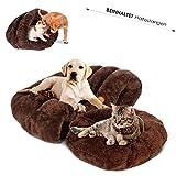 Masthome Hunde- und Katzenbett mit Wendekissen Warm