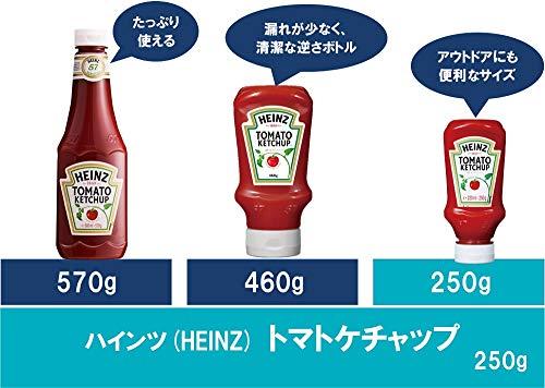 ハインツ トマトケチャップ ボトル250g [5436]