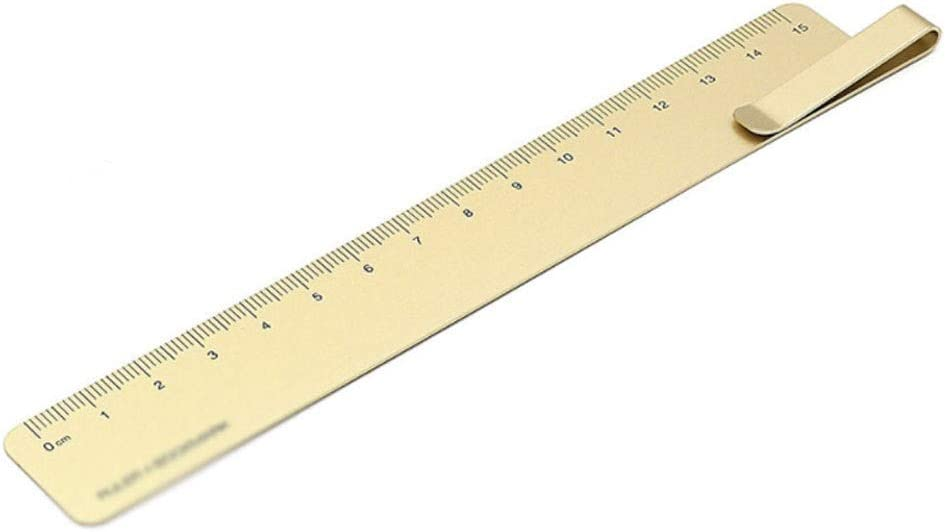 WPYYI online shop Metal Ruler Albuquerque Mall 15cm Lightweight Portable Stai Rulers Straight