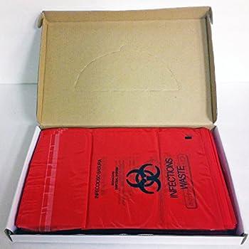Plasdent PS-850 Bio Hazard Waste Bags  9 x10   200/pk