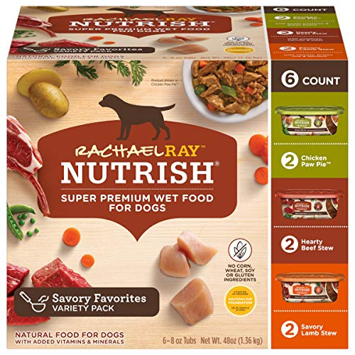 Nutrish Premium Natural Wet Dog Foods