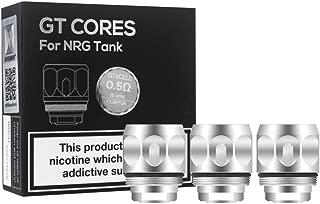Vaporesso NRG & SE Mini tanque GT cCell Bobinas de repuesto de cerámica Paquete de 3 (GT cCell resistencia 0.5 ohm (15-40W)), Este producto no contiene nicotina ni tabaco