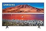 SAMSUNG 82-Inch Class Crystal UHD TU7000 Series- 4K UHD HDR Smart TV with Alexa Built -in (UN82TU7000FXZA, 2020 Model) (Renewed)