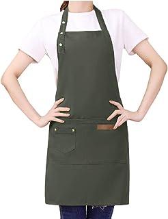 71cm Kentop Delantal de Cocina para Hornear Hogar Clean Anti-Aceite y Impermeable Apron,91