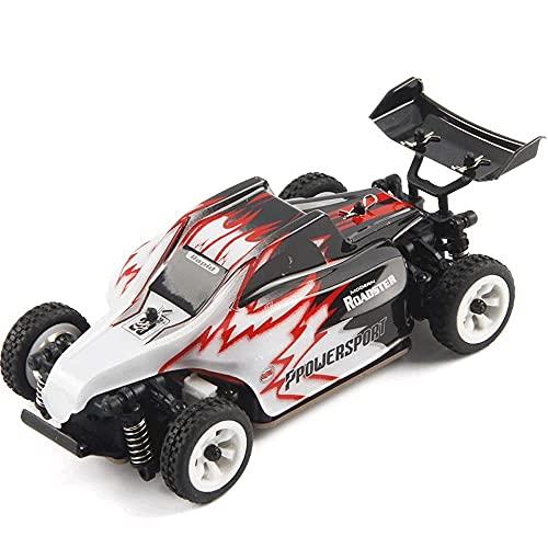 Nsddm 1/28 Scale RC CAR, 30km / h Racing de alta velocidad 2.4g Buggy de control de radio, 4WD OFF Vehículo de carretera con chasis de aleación, camión de rc amateur adulto, regalo de juguete de hobby