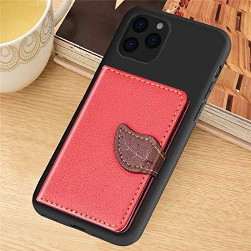 BANAZ Slim, a prueba de golpes, a prueba de suciedad, impermeable, for iPhone 11 Pro Litchi Patrón de patrón Bolsa de tarjeta Soporte de billetera + TPU Funda telefónica con tarjeta Slot Wallet Funció