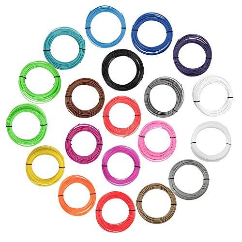 FAN-MING-N-3D, ABS-Kunststoffdraht, 1,75 mm, für 3D-Drucker, RoHS-zertifiziert, 3D-Stift-Filament (Farbe: Braun)