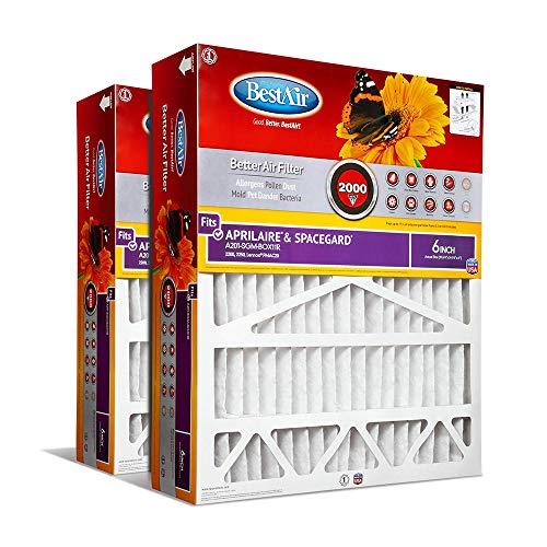 BestAir A201-SGM-BOX-11R AC Furnace Air Filter,...