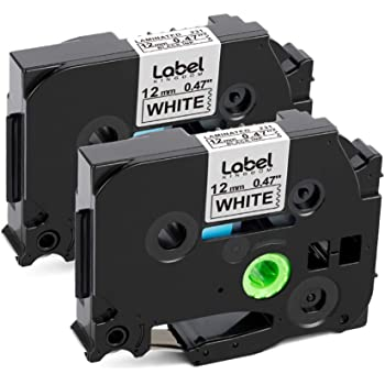 Labelife Compatible Label Tape  for Brother TZe231 Ptouch Tape TZe Label Tape 12