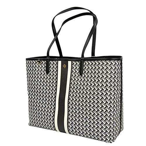 Tory Burch Shopper Bag Vinyl Leather Trim