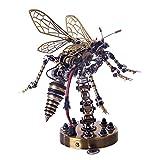 Xshion Puzzle 3D de metal, diseño de avispas mecánicas, con sonido, para montar en 3D, para adultos y niños, juguetes para construir o regalar
