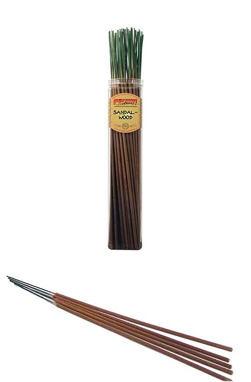 助けてネブ吸収するサンダルウッド?–?Wild Berry Highly Fragranced Large Incense Sticks