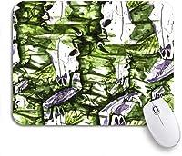 可愛いマウスパッド 着色されたマンダラ伝統的なインドのシンボル幾何学的なサークル精神的な滑り止めゴムバッキングマウスパッドノートブックコンピュータマウスマット