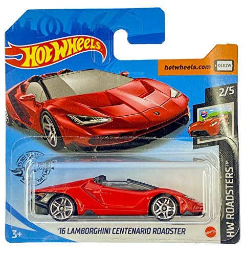 Hot Wheels '16 Lamborghini Centenario Roadster HW Roadsters 2/5 2020 (170/250) Short Card