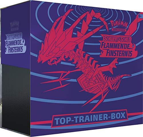 CAGO Schwert & Schild Flammende Finsternis - Top Trainer Box - Deutsch