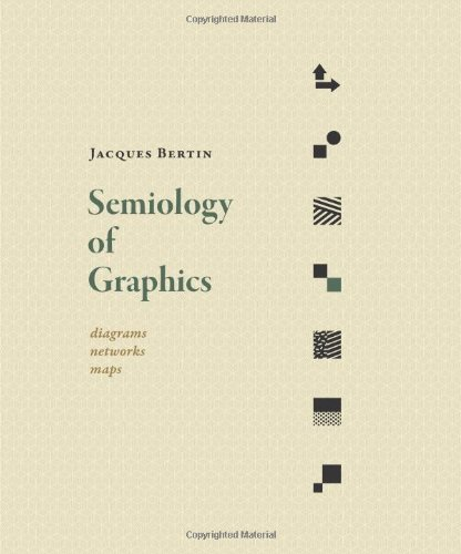 Compare Textbook Prices for Semiology of Graphics: Diagrams, Networks, Maps 1 Edition ISBN 9781589482616 by Bertin, Jacques