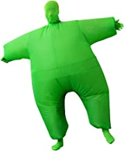 SIREN SUE Adult Inflatable Full Body Jumpsuit Cosplay Costume Halloween Blow Up for Party Toy
