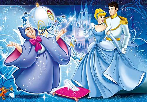 Cenicienta Princesa Rompecabezas de 300 Piezas, Rompecabezas de Madera de 300 Piezas, la Princesa de Disney Significa Que Las Piezas Van Juntas Perfectamente para niñas y niños