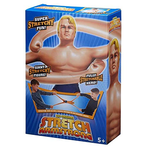 Stretch Armstrong Figure - The Original 12' Large Stretchable Hasbro Action Toy