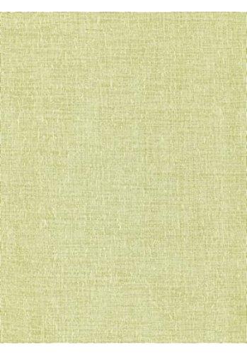 heine home Vorhang zum Schieben halb transparente Gardine Klettschienenvorhang Gelb 225x57 cm