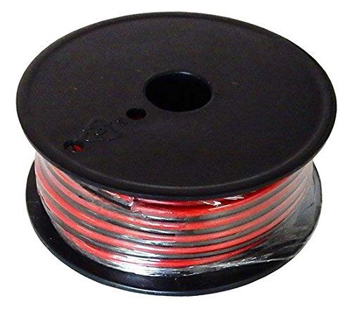 Powerwerx Red/Black Zip Cord (Gauge: 12 Length: 25 ft.)