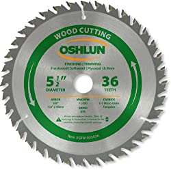 Oshlun SBW-055036 ATB Trimming Saw Blade Review