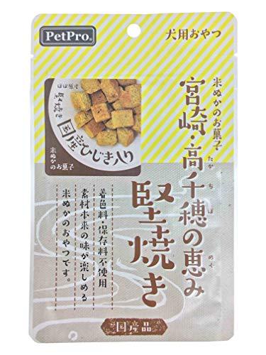 ペットプロ 犬用おやつ 宮崎・高千穂の恵み 堅焼き 国産ひじき入り 40g