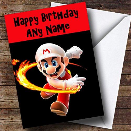 Gepersonaliseerde Super Mario Verjaardagskaart