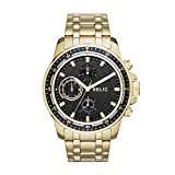 Relic by Fossil Men's Heath Quartz Stainless Steel Sport Watch, Color: Gold (Model: ZR15834)