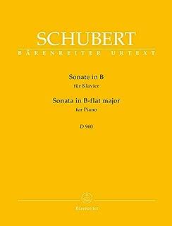 Schubert: Piano Sonata in B-flat Major, D 960