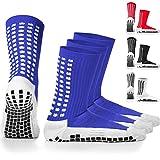 LUX - Calcetines de fútbol, antideslizantes, calcetines antideslizantes de mayor agarre, para deportes como fútbol, baloncesto, hockey