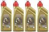 Castrol Transmax 75W90 GL4+ Aceite de engranaje totalmente sintético, 4 litros