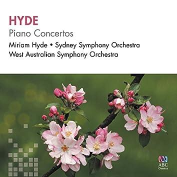 Hyde: Piano Concertos