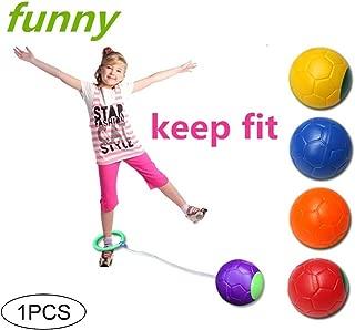 kakakooo 1pc Saltar Bola de los niños de los niños del Tobillo Skip Hop de la Bola de Salto de Ejercicio de Juguetes Skip Bolas Tobillo Saltar Saltar Juguetes (Color al Azar)