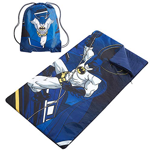 DC Comics Batman Sleeping Bag with Sling Carry Bag - Kids