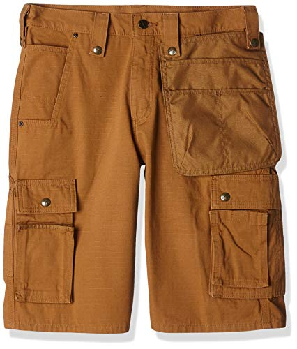 Carhartt .102361.211.S532 Multi Pocket Ripstop Short, Carhartt Brown, W32