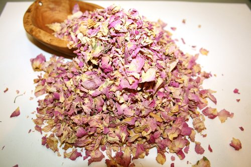 Organic Bio Herbs Dried Rose Petals (Rosa Damascena), 2 oz