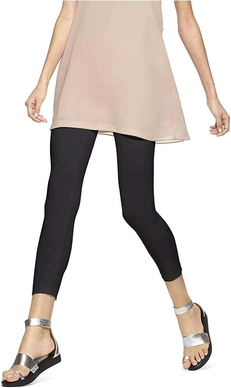 HUE Women's Ultra Capri Leggings with Wide Waistband