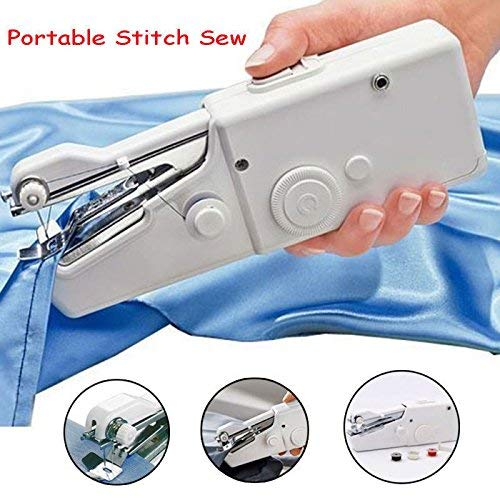 Portable Smart Electric Tailor Stitch Hand-held Sewing Machine Home Sewing Tools