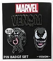 マーベル MARVEL ヴェノム Venom ピンバッジセット [3個セット] / ヴェノム IBA-224