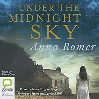 Under the Midnight Sky                   Written by:                                                                                                                                 Anna Romer                               Narrated by:                                                                                                                                 Eloise Oxer                      Length: 12 hrs and 35 mins     Not rated yet     Overall 0.0
