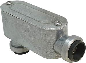 "Southwire E-LB-050 1/2"" Push Install Type EMT LB Conduit Body, Gray"