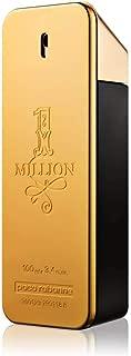 Paco Rabanne 1 Million for Men Eau de Toilette Spray 3.4 Fl Oz Plain Box