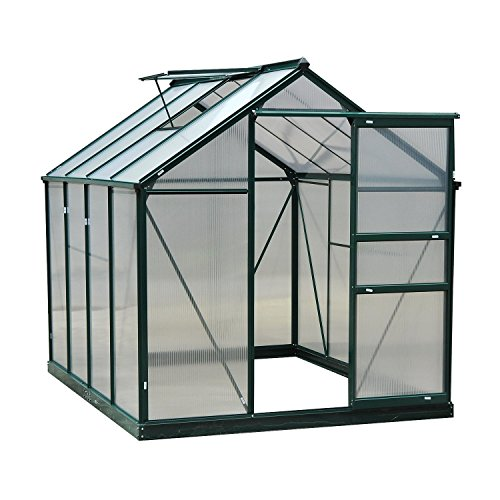 Outsunny 6' x 8' x 7' Walk-in Plant Greenhouse