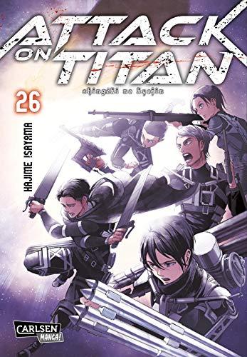 Attack on Titan 26: Atemberaubende Fantasy-Action im Kampf gegen grauenhafte Titanen