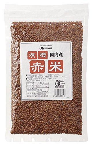 国内産有機赤米