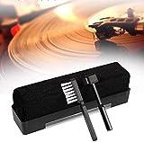 Lyxmy Cepillo de Limpieza Set 3pcs Lápiz Óptico Phono Disco de Vinilo Fibra de Carbono Polvo Restaurador Hogar Suave Antiestático Tocadiscos Herramienta Práctico Portátil